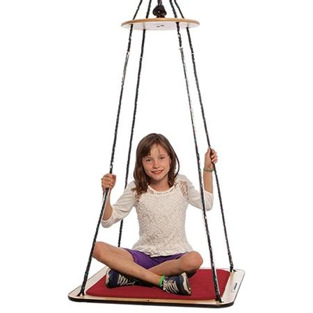 platform swing therapy theragym 174 square platform swing flaghouse