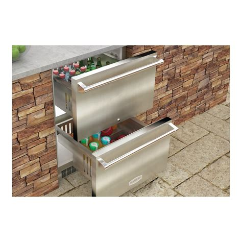 outdoor refrigerator drawers sale mo24rds3ns marvel 24 quot outdoor refrigerated drawers