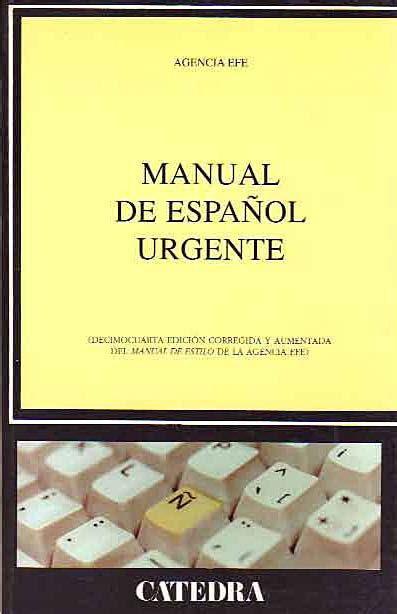 libro manual del espaaol urgente manual del espa 241 ol urgente girol books