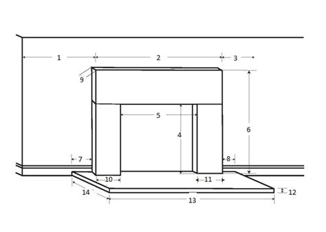 dimensions of a fireplace fireplace mantel worksheet sizing request a quote