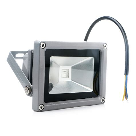 remote control outdoor flood lights new outdoor 10w rgb waterproof led flood light landscape