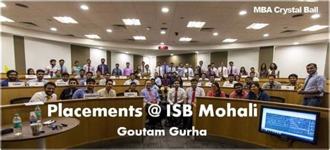 Isb Executive Mba Review by Isb Mohali Cus Placements The Story Before Employment