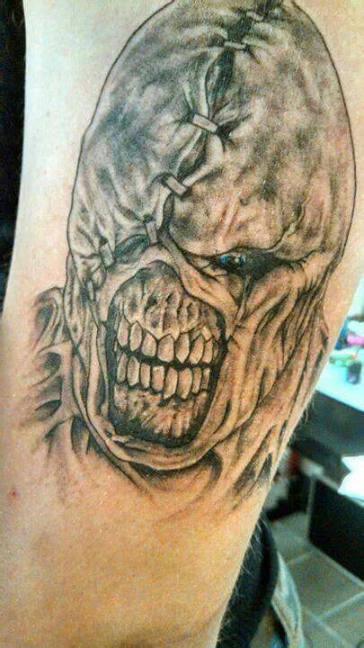 nemesis tattoo nemesis resident evil resident evil
