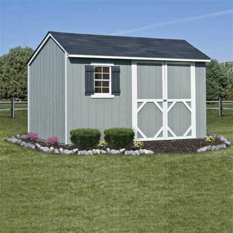Garden Shed 12x8 by Stratford 12ft X 8ft Heartland Industries