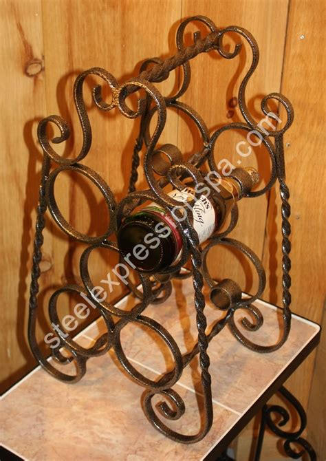 iron wine rack table wrought iron wine racks wine tables steel expressions
