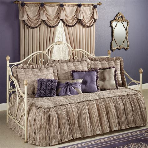 day bed comforter sets daybed comforter set evermore almond daybed bedding set