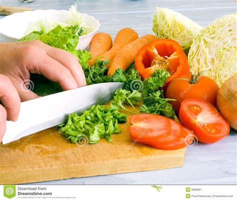 m s prepared vegetables preparing vegetable salad stock image image 9928261