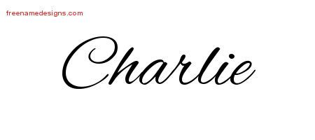 charlie archives free name designs