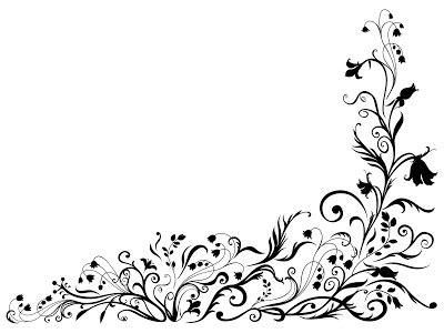 format gambar pada desain vektor 40 floral ornament format cdr gratis album kolase