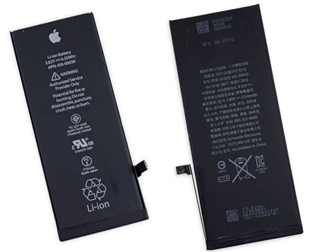 apple iphone 6s and 6s plus teardown confirms smaller battery heavier display and more
