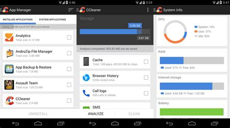 cleaner for android ccleaner now also on android uptodown en