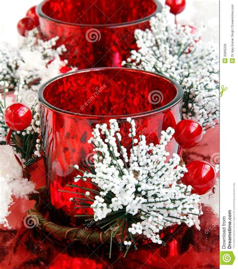 Lu Natal Per Meter velas decoradas vermelhas bonitas do natal para o presente
