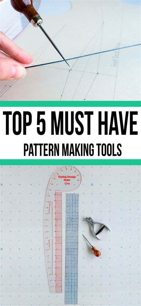 download pattern st tool top 5 must have pattern making tools