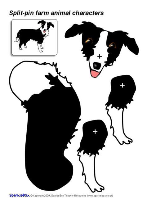 Split-Pin Farm Animal Characters