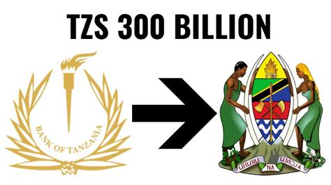 tanzania to pay the government bank of tanzania to pay tzs 300 billion dividend to