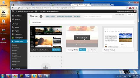 How To Build A Wordpress Website Fast With Bluehost Using Themeforest Premium Themes Youtube Bluehost Web Templates