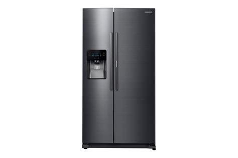 samsung refrigerator 24 7 cu ft side by side samsung rh25h5611sg aa 24 7 cu ft capacity side by side