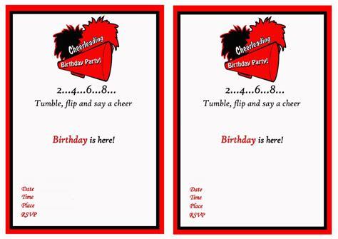 birthday invites print birthday invitations free download best