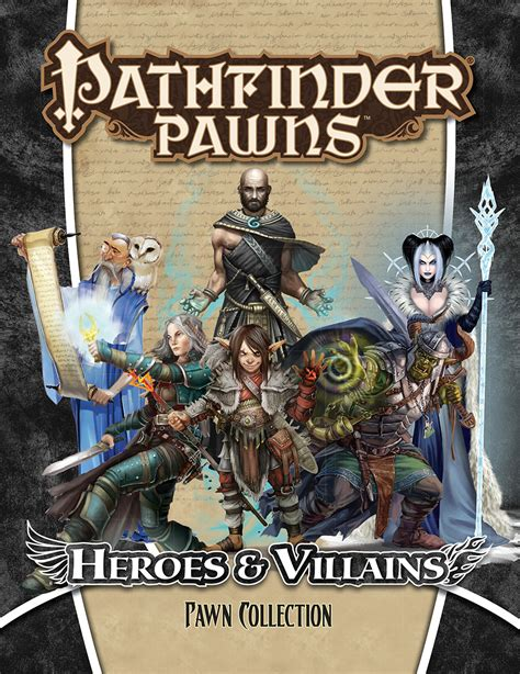 starfinder pawns archive pawn box books may173198 pathfinder pawns heroes and villains pawn