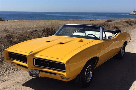 1968 Pontiac GTO Convertible   Project Cars For Sale