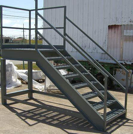 industrial stairs industrial stairways steel staircase osha stairways