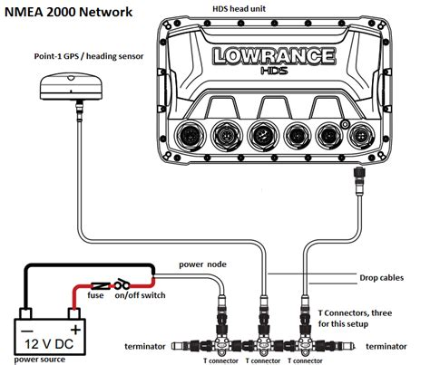lowrance hds 7 2 wiring diagram lowrance hds 8 wiring