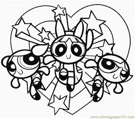 Coloring Pages Powerpuff Girls3 Cartoons Gt Powerpuff Coloring Pages Of Power Puff Printable