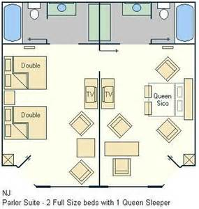 all suite floor plan all star music family suite floorplan layout magical distractions