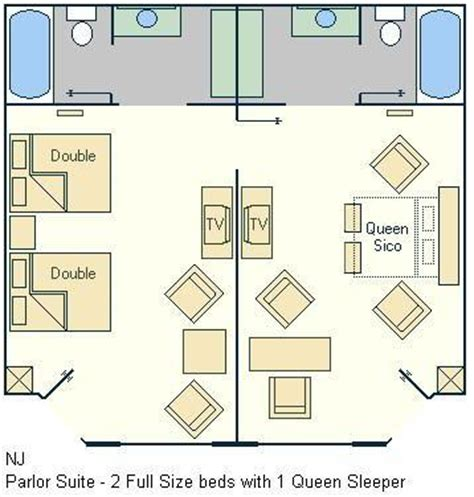 all star music suite floor plan all star music family suite floorplan layout magical