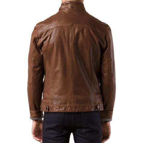 Jaketexpress Boomber Brown Jacket Boomber brown color bomber leather jacket leather jackets usa