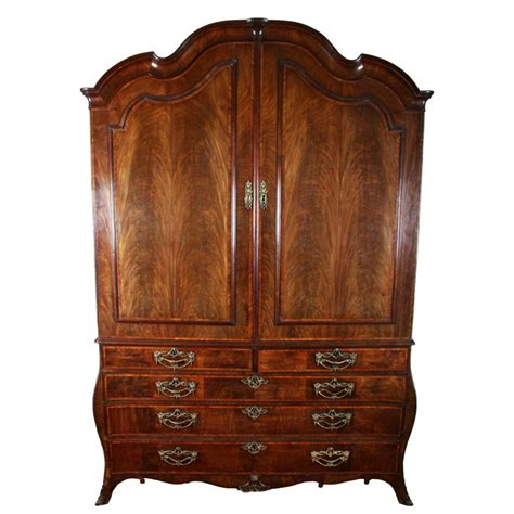 antique mahogany armoire antique mahogany armoire 18th century dutch armoire