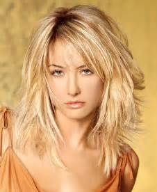 medium length hairstyles haircuts and hair colors