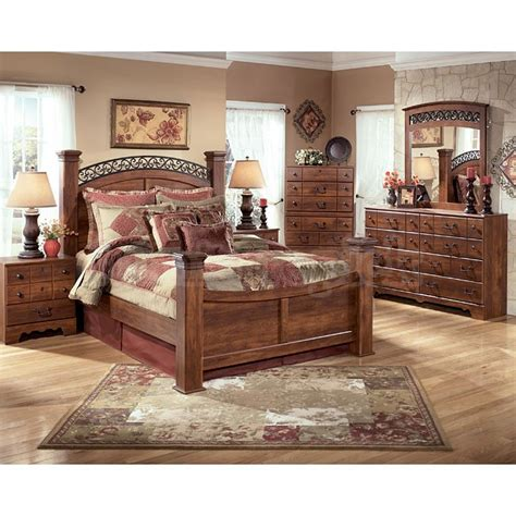 signature design bedroom furniture ridgley bedroom set signature design home pleasant