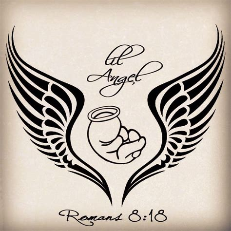 55 miscarriage baby angel tattoos amp ideas