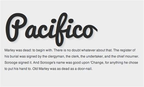 best web font the 10 best script and handwritten web fonts