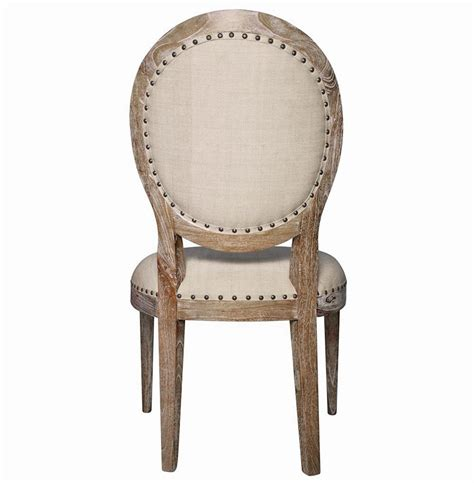 aragon country grey wash side chair pair
