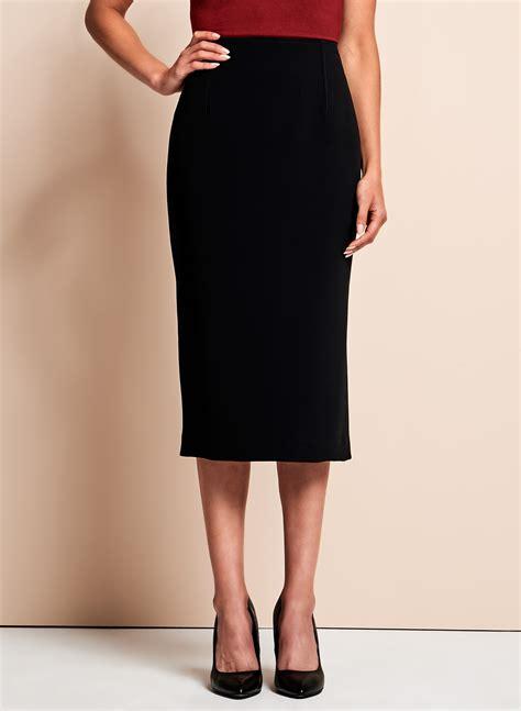 Side Slit Pencil Skirt louben side slit pencil skirt melanie lyne