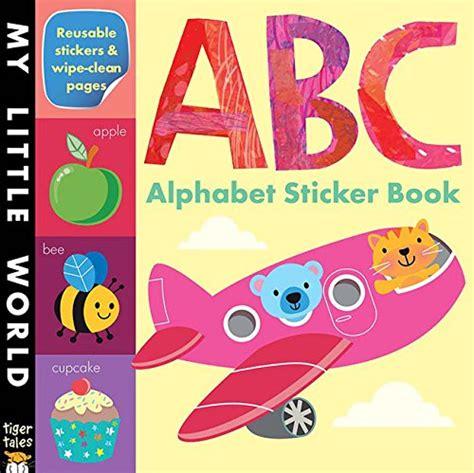 My World Sticker Book abc alphabet sticker book my world buy