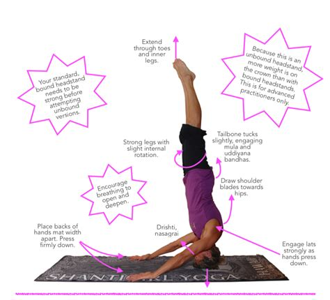 ashtanga yoga el asana tip sheet 19 mukta hasta sirsasana blissful yogini