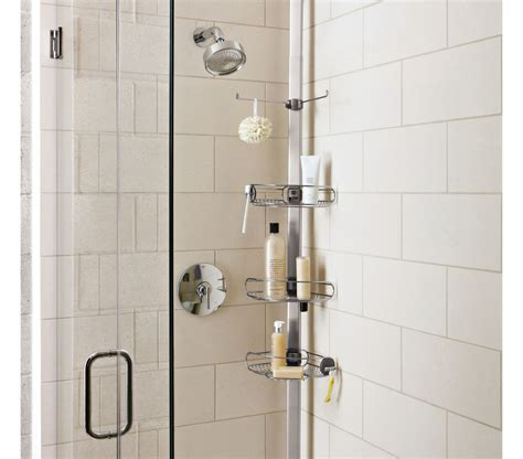 Bathroom Ideas Shower perfect expandable shower caddy the decoras
