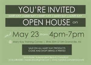 open house invitation erica bode work fall invitations open