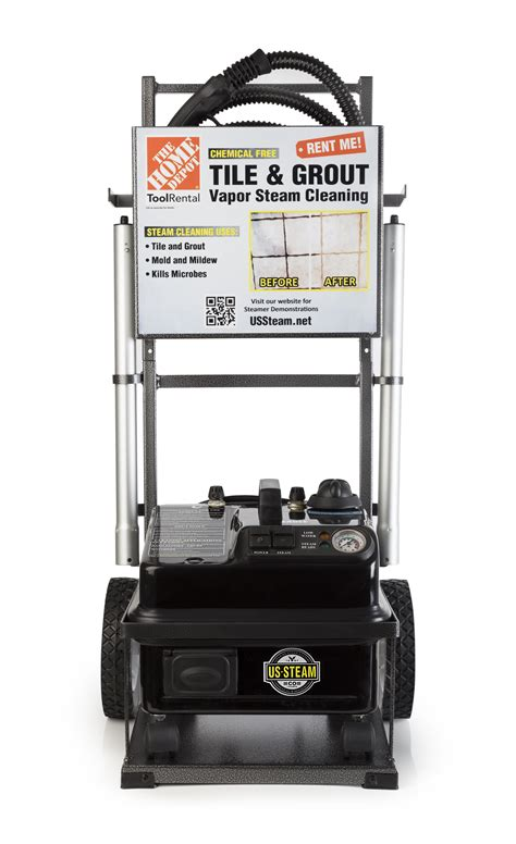 Rent Cleaner by Tile And Grout Steam Cleaner Rental The Home Depot