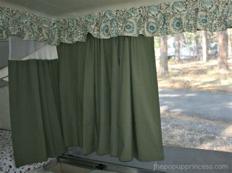 rv drapes pop up cer makeover the curtains part 1 rv makeover