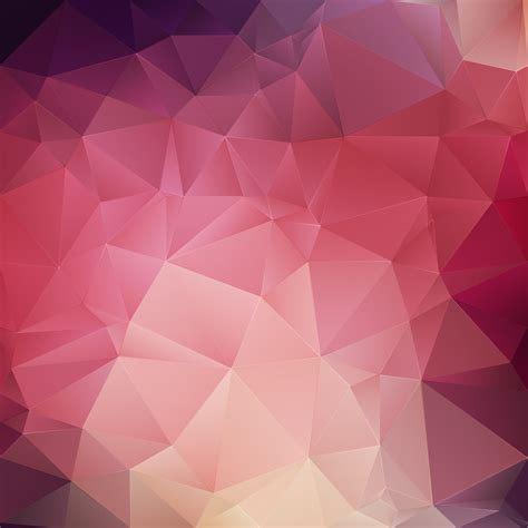 pink crystal geometric background   vectors