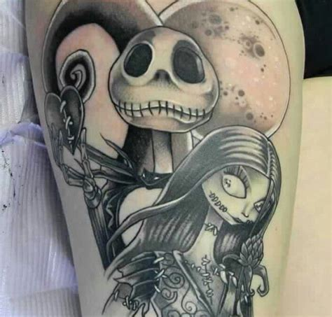jack and sally couple tattoos and sally tattoos sally