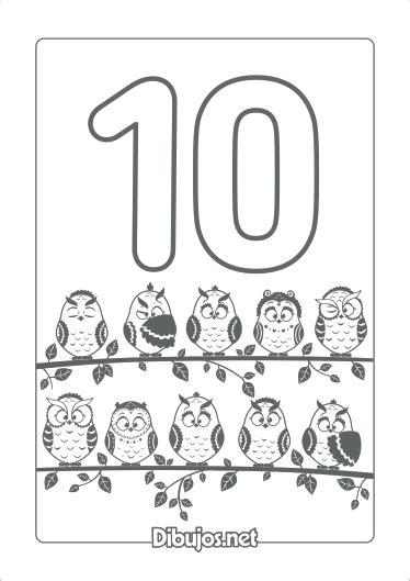dibujos para colorear colorear y aprender aprende los n 250 meros del 1 al 10 con estos dibujos para