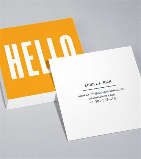 Moo Square Business Cards Template by Best 25 Square Business Cards Ideas On