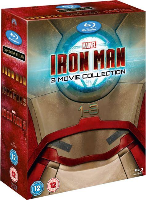 Iron Dvd Box Set Collection Koleksi iron 1 3 zavvi