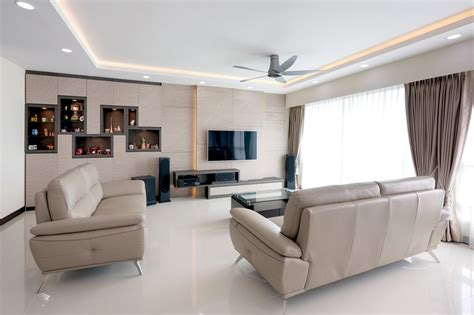 living room design hdb flat a 5 room hdb bto flat with a chic contemporary look lookboxliving