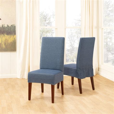 Slipcover Dining Chairs Slipcovers For Dining Room Chairs That Embellish Your Usual Dining Chairs Homesfeed